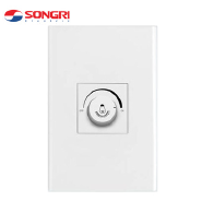 Songri 78*118mm PC panel 630W 10A light dimmer switch