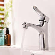 Wholesale hot and cold water brass bathroom faucet manufacturer