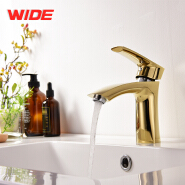 Classic design deck mounted copper bathroom mixer for wholesale