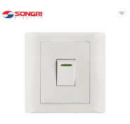 electrical wall lighting switch with led light