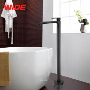 Best selling floor stand black bathtub faucet, freestanding tub faucet