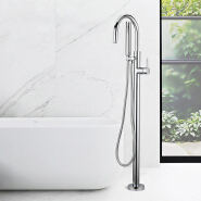 Wholesale floor mounted freestanding bathtub faucet, faucet for bathtub