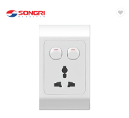 Songri 10A multi function socket with two switch