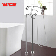 Telephone design floor mounted freestanding bathtub faucet with good price