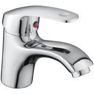 Cheap Customizable Single Handle Brass Basin Faucet