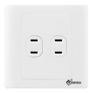 Hotel electrical plugs wall sockets 4 pin scoket universal switched socket light wall switch and soc