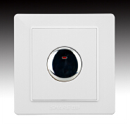 SHARE Exquisite Craftsmanship Rubber Push Button Touch Delay Wall Switches With plastic board
