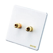 High Quality Factory Wholesale Crtelectrical safely Electrical Sound Wall Socket For Home 9.5mm