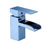 water basin waterfall faucet mixer tap