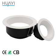China Modern Accoustical 15W Inserts LED Balcony Ceiling Downlight Fixtures