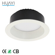High Level Light Tight AC220 240V Ip44 Dimmable Slim COB LED Downlight For Jewellery