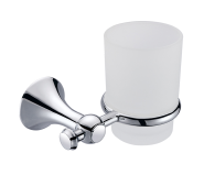 Hot Selling Bathroom Accessories Double Glass Cup Tumbler Holder