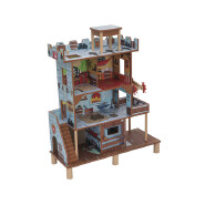 Wholesale happy Family doll house wooden accessories