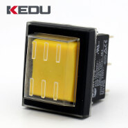 KEDU High Quality HY12-9 ON-ON 6 Pins Waterproof Rocker Switch waterproof push button switch waterpr