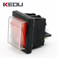 KEDU High Quality 250V 10A 4 Pin Rocker Switch With Waterproof