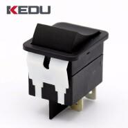KEDU HY12 20A 250V ON/OFF SPDT Boat Rocker Switch With UL TUV CE CQC