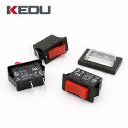 KEDU HY35 Mini ON OFF Red Lamp Boat Rocker Switch With UL TUV CE CQC