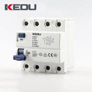 KEDU 4P 63A Residual current circuit breakers with VDE CB CCC CE approved