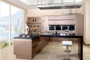 Promotional Quality Guaranteed Customized Design kitchen cabinet CG-007
