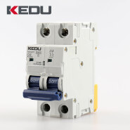 KEDU 2P MCB Miniature Circuit Breaker with VDE CB CCC CE Approved