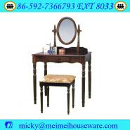 Antique bedroom wooden make up vanity