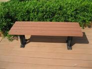 Weather resistant wood plastic composite wpc garden bench, wood plastic composite park bench, outdoo
