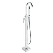 single Handles upc FreeStanding Tub Faucet
