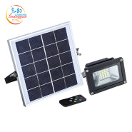IP65 outdoor waterproof 10w led solar flood light with remote control