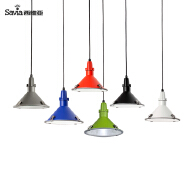 Savia Modern colorful E27 40W indoor and outdoor aluminum and glass IP44 pendant light home decorati