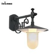 Savia Outdoor light garden wall lamp 220V 1xE27 Max.40W IP44 wall mounted outdoor light Dark grey ho