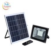 High quality outdoor remote control decorative solar 50w led flood light
