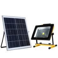 High power ip65 waterproof outdoor solar panel 50watt led flood light