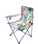 Outdoor Leisure Printed Folding Camping Chair