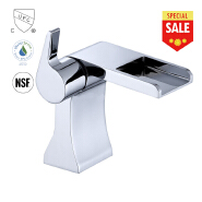 sanitary high quality and modern design waterfall basin faucet