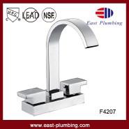 4'' centerset high arc cUPC two handles modern basin faucet ornate basin faucet popular style basin