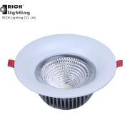 Alloy Aluminum LED COB Decorative Flash Indoor Downlight