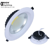 2019 new model 30W 8 inch 200mm Cut out Recessed COB downlight Led down light CB Certification