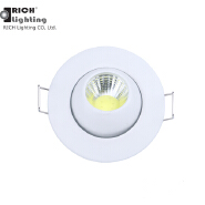 High quality CE ROHS 2Inch Round Commercial lights surface mounted indoor cob recessed 3watt led dow