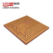 Leeyin fireproof wooden decorative art wall panels
