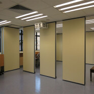 Sliding Doors Interior Room Divider Wooden Movable Office Partition