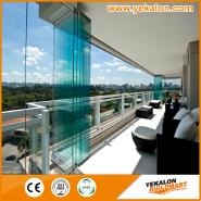 Top10 Best Selling Top Class Brand Design Aluminium folding door YKD-GF