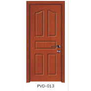 Yekalon Waterproof Toilet Door Bathroom Door Interior PVC door(PVD-013)