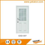 Yekalon GSD-007 Promotions Top Grade Fashion Design Glass Series Modern Steel Security Door