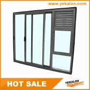 Hot Sale Super Quality Various Design aluminum sliding door ALSD001