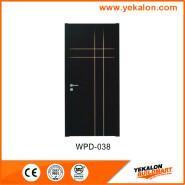 Yekalon Best Choice Exceptional Quality Popular design engineering WPC main door WPD-038