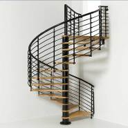 Opening Sale Samples Are Available Special Design Aluminum with glass staircase YKS-LWG4