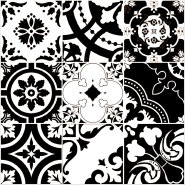 Factory Supply Export Quality Customizable Alpha Flower series Rustic Tiles YAF617
