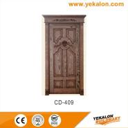 Best-Selling Best Quality Comfortable Design engineered panel design solid wood door(CD-409)