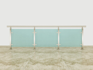 Hot Product Highest Quality Simple Style Aluminum glass railing AG003