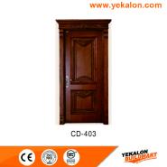 Promotions Top Grade Fashion Design engineered panel design solid wood door(CD-403)